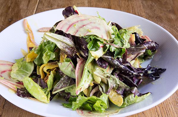 Shaved Garden Salad
